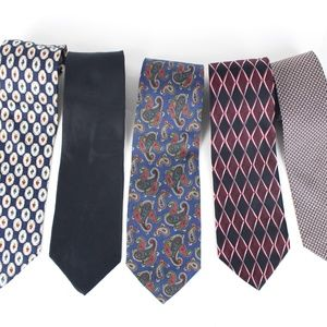 Stafford Mens Necktie 5 Designer Silk Ties     439